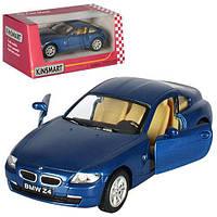 Kinsmart металлическая инерционная машинка BMW Z4 COUPE Кинсмарт KT5318W 002035, фото 1