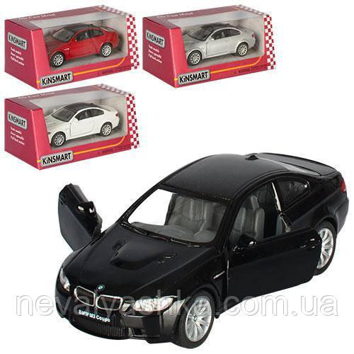Kinsmart металлическая инерционная машинка BMW M3 Coupe Кинсмарт KT5348W 000641