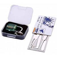 S-63 мини прозрачной висячий замок для практики и комплект блокировки кредитных карт инструмент слесаря Зелёный