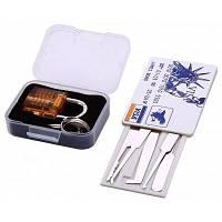 S-65 мини прозрачной висячий замок для практики и комплект блокировки кредитных карт инструмент слесаря Оранжевый