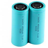 2 х гетерогенных 4500 мАч 3.6 В МНО 26650 литий-ионный аккумулятор 2 шт.
