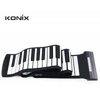 Konix MD88S гибкое 88 ключей пианино клавиатура для отдых Чёрный