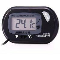 Цифровой измеритель температуры аквариума Чёрный
