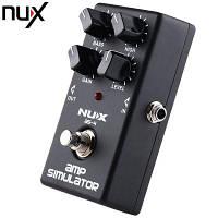 Nux как 4 современных Усилитель симулятор гитары педаль эффект 70686