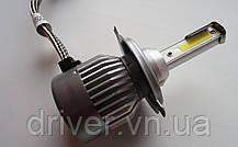 Лампочки LED H4 Hi/Low 5500K / 3500Lm (кт-2шт)