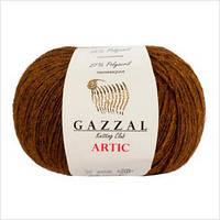 Пряжа GAZZAL ARTIC,коричневый