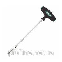 Ключ свечной Т-образный торцевой магнитный 16 мм Toptul CTFB1635