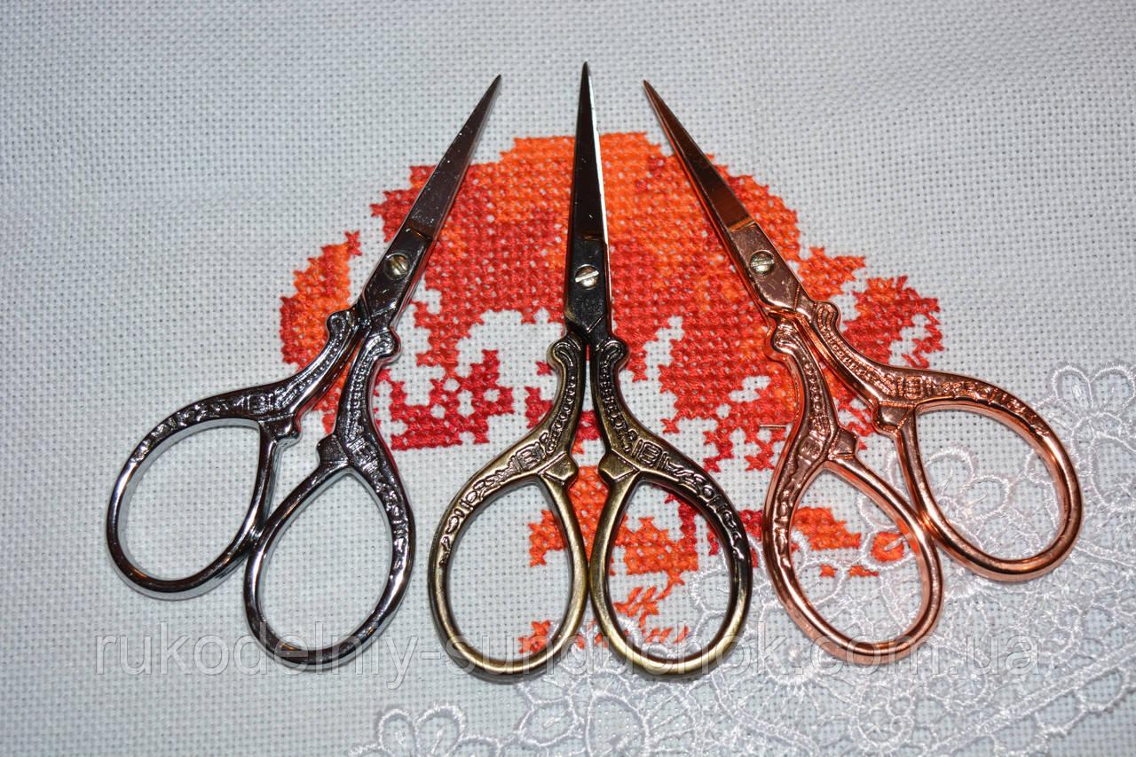 """Ножницы для рукоделия """"Павлины"""" 9 см"""