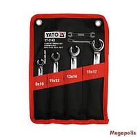 Набор разрезных ключей 4 ед Yato YT-0143