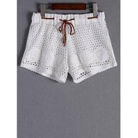Стильные Tie крючком шорты для женщин От XS to M