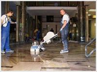 Шліфування , полірування мармуру підлоги