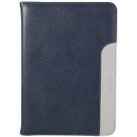 4 в 1 кожаный Полное покрытие тела для iPad воздуха 2 Пурпурно-синий