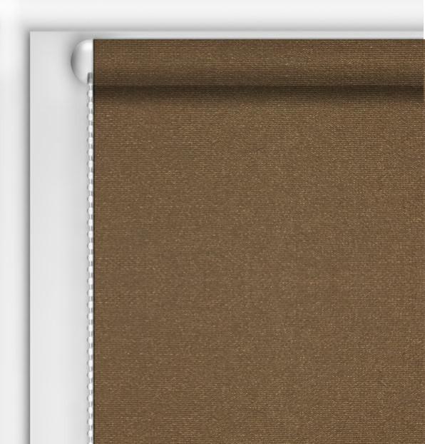 Рулонные шторы DIY Камила коричневый