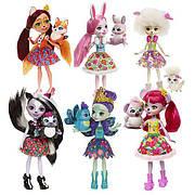 Куклы Энчантималс Девочки животные (Enchantimals Dolls)