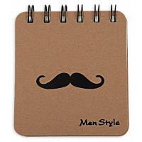 Блокнот с закладками дневник заметка канцтовары борода