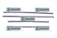 Уплотнитель низа стекла 2410 (реснички) ГАЗ-31029 (3102-6103471-02)