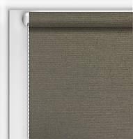 Готовые рулонные шторы Камила темный серый