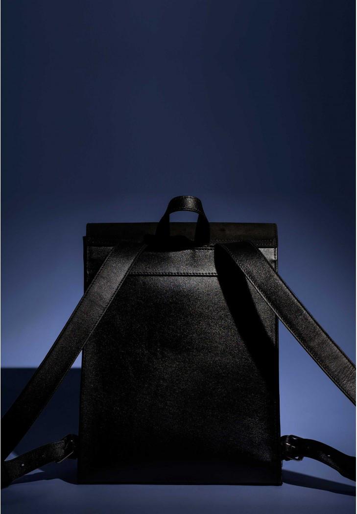 a6f608470885 Рюкзак кожаный BlankNote Blank-Bag-1-black черный, цена 5 500 грн., купить  в Киеве — Prom.ua (ID#637685805)