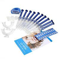 Стоматологический отбеливающий набор практический набор для отбеливания зубов Синий