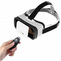 LEJI мини 3D очки виртуальной реальности для 4.7-6.0 дюймов смартфонов Белый и чёрный