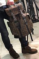 Крутой мужской рюкзак Louis Vuitton CHRISTOPHER PM (реплика), фото 1