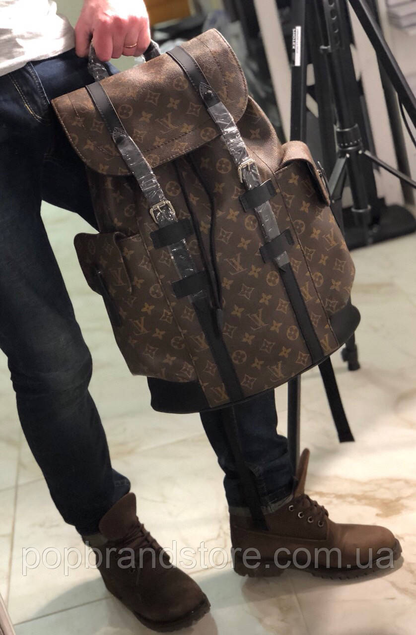 6b1b8aac6a76 Крутой мужской рюкзак Louis Vuitton CHRISTOPHER PM (реплика) - Pop Brand  Store