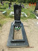 Памятник из камня с вазой, фото 1