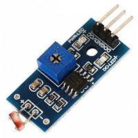 Модуль цифрового датчика интенсивности света фоторезистор для Arduino - Синий