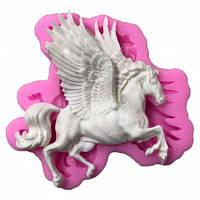 GJ-159 Силиконовые формы для выпечки в виде летающей лошади Розовый