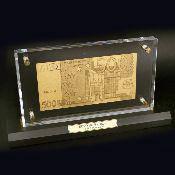 Купюра с золотым напылением EURO 500