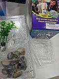Детский самоочищающийся пластиковый аквариум My Fun Fish с подсветкой 2 л., фото 3