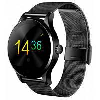 K88H Bluetooth смарт часы монитор сердечного ритма умные часы браслет для часов из нержавеющей стали