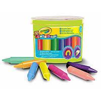 24 цветных мелка карандаша в ведерке для малышей, Crayola