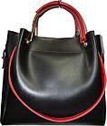 Женская черная сумка с клачем Michael Kors (28*32*14) , фото 2