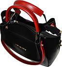 Женская черная сумка с клачем Michael Kors (28*32*14) , фото 3