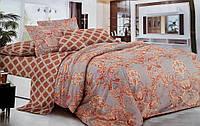 Комплект постельного белья Евро Сатин 100% хлопок