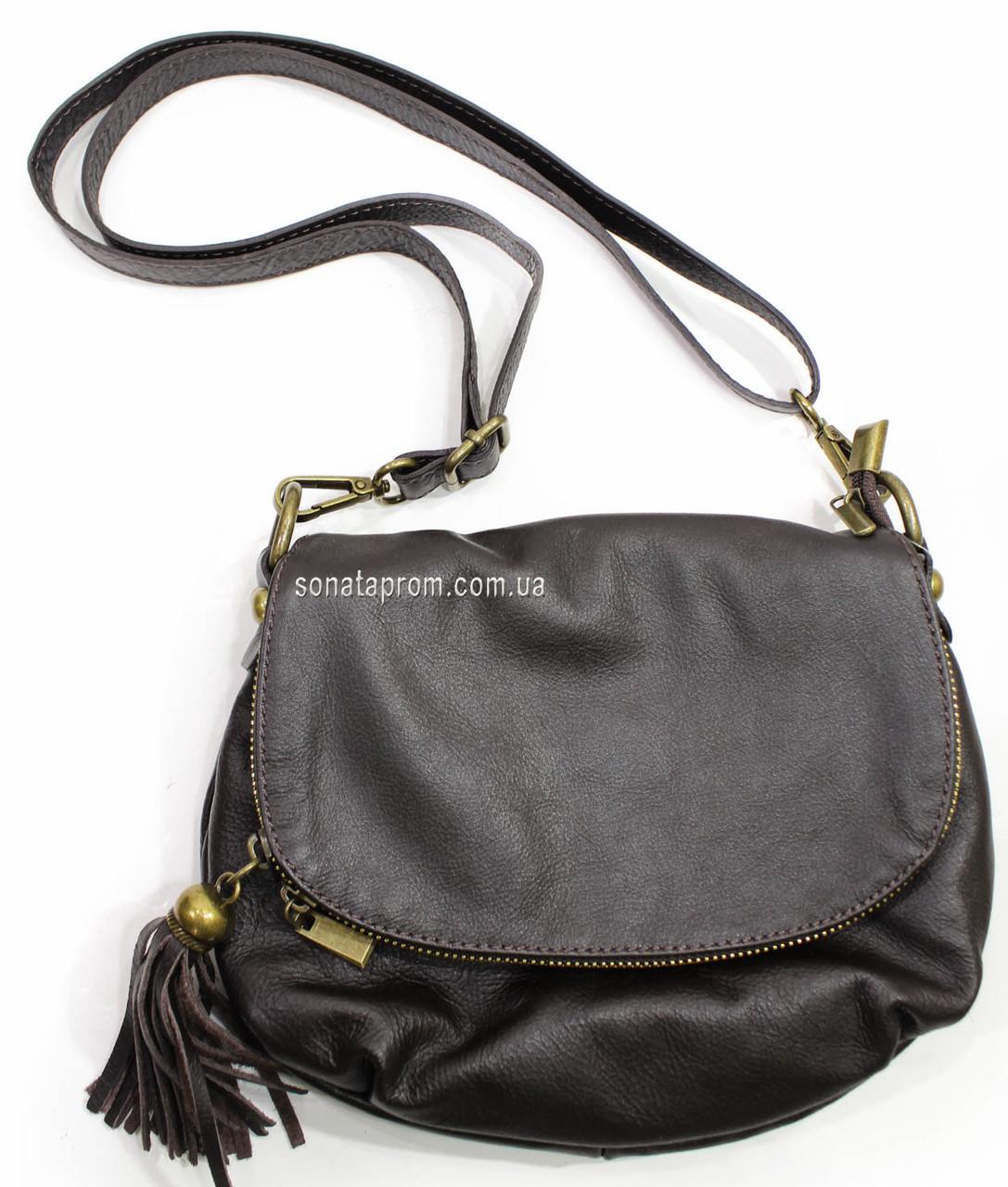 fbabb80f8dc5 Женская сумка на плечо небольшая кожаная, цена 1 389 грн., купить в ...