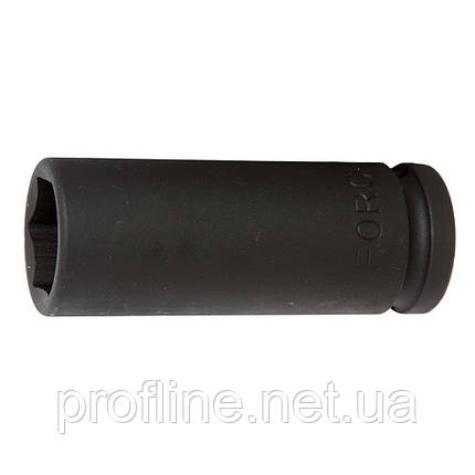 "Головка 6-гр. ударна, глибока 3/4"" 36 мм, L=100 мм Force 46510036 F, фото 2"