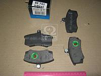 Колодка тормозная ВАЗ 2108 передняя (компл.4шт) (пр-во BEST)