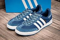 Голубые кроссовки Adidas Jeans (AJ 05)