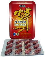 Чунцао Добянь Бао (Best Whips) - натуральный препарат для мужского здоровья 12 шт.