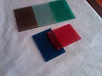 Поликарбонат сотовый 8 мм цветной