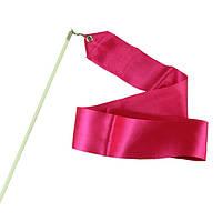 Лента гимнастическая 6 м Розовые