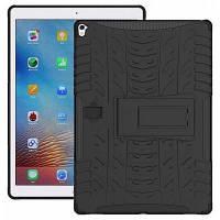Чехол с двойной защитой кронштейн подставка для 9.7-дюймового iPad Pro Чёрный