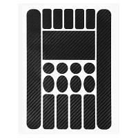 Простая Рамка Перьев Protector Наклейки Велосипед черный 01