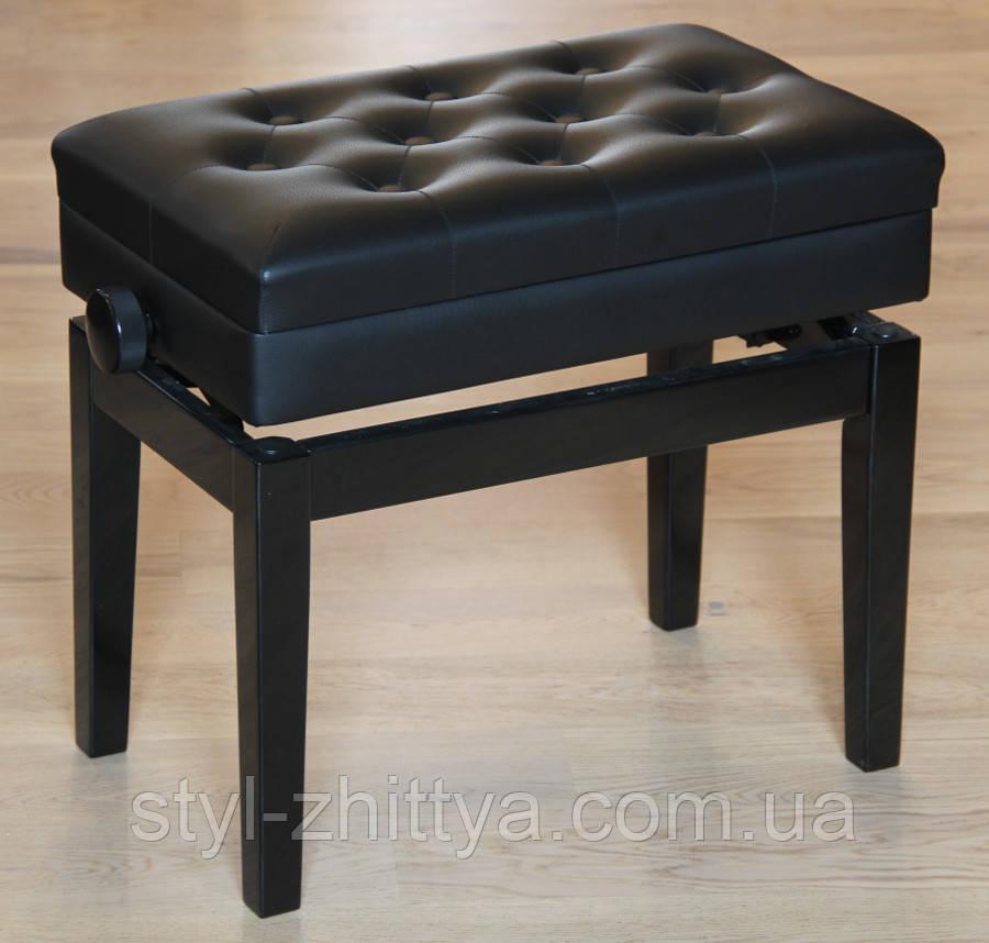 Регульований стілець для піаніно зі сховком HOMCOM