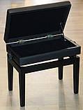 Регульований стілець для піаніно зі сховком HOMCOM, фото 2