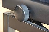 Регульований стілець для піаніно зі сховком HOMCOM, фото 3
