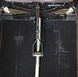 Регульований стілець для піаніно зі сховком HOMCOM, фото 4