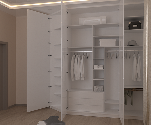 Распашной шкаф  Cleaf, фото 2